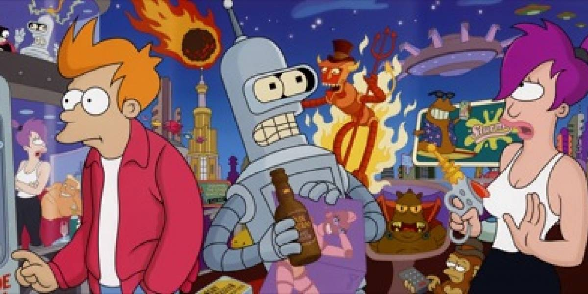 Futurama vuelve como película en Noviembre