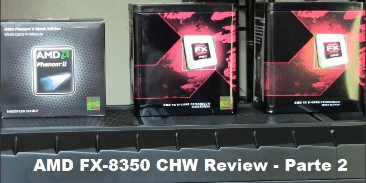 """AMD FX-8350 """"Vishera"""" Review: Rendimiento en juegos"""