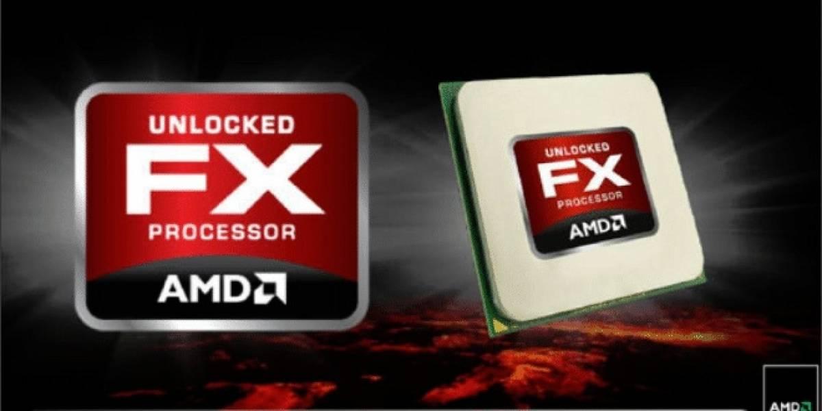 Imagen del die del CPU AMD Vishera
