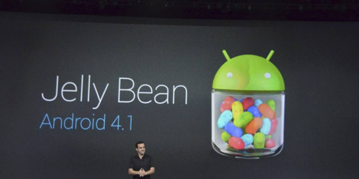Google presenta Android 4.1 Jelly Bean