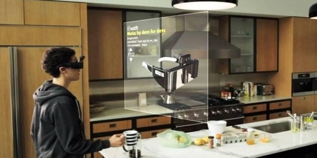 Crean gafas de realidad aumentada para manipular objetos 3D