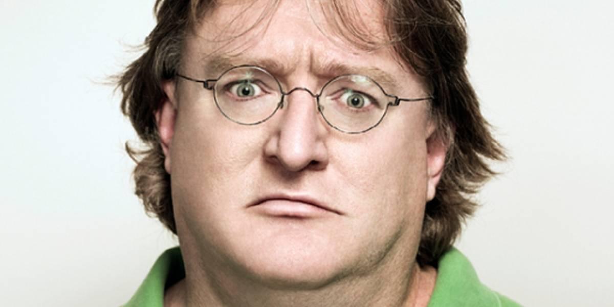 A Gabe Newell, co-fundador de Valve, no le gusta Windows 8