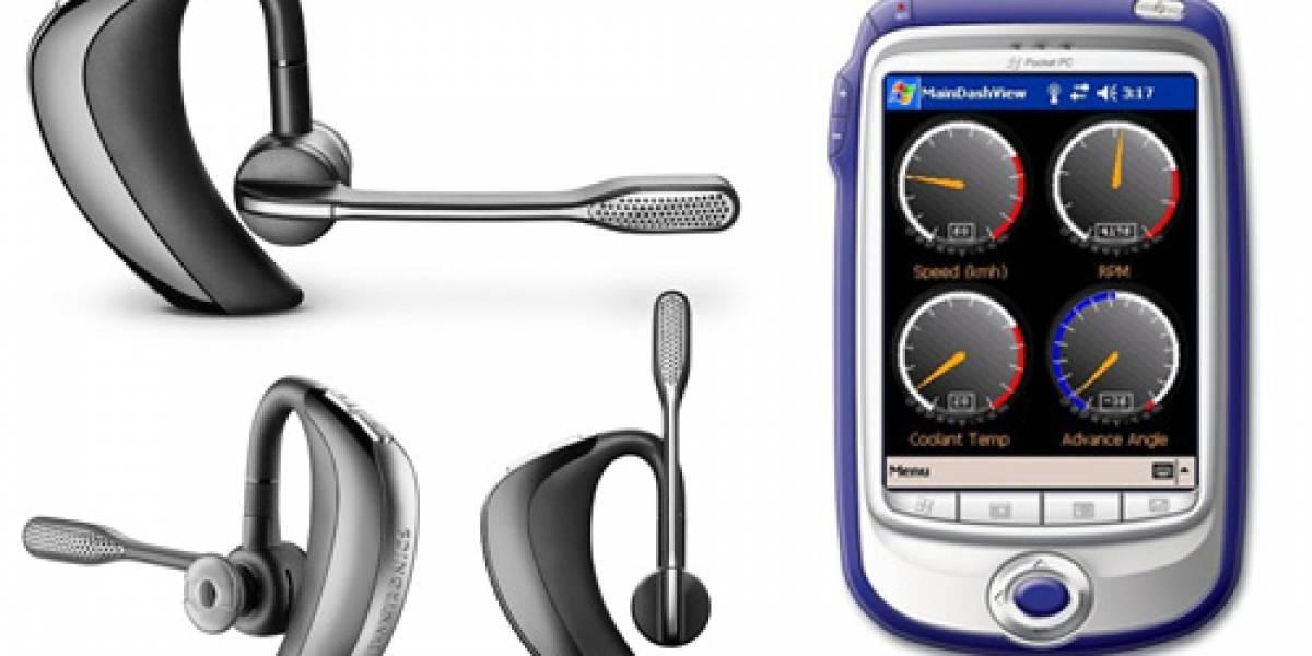 Bluetooth X2: Audífonos Plantronics Voyager Pro + BDKey para diagnosticar tu auto en tiempo real