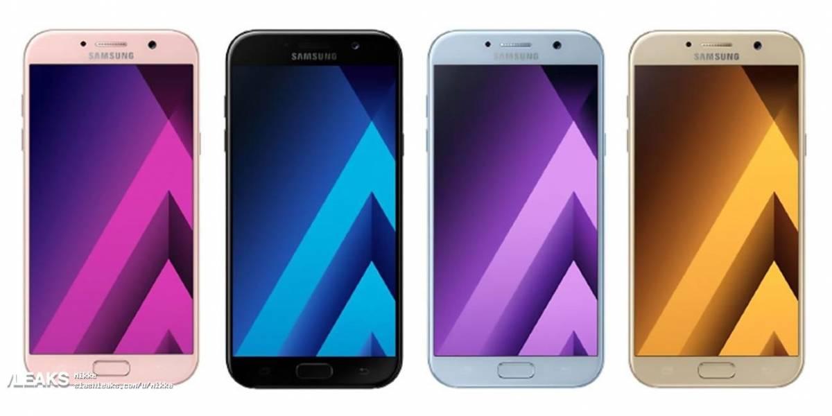 Se filtra por completo la apariencia del Galaxy A5 2017