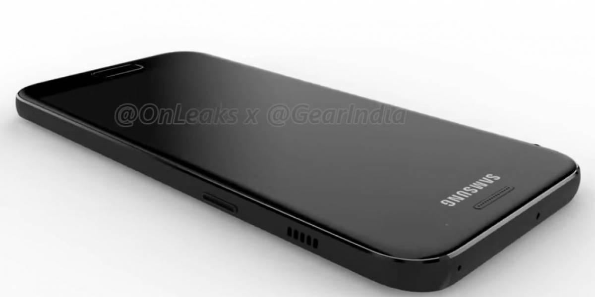 Se filtran imágenes y video del nuevo Galaxy A3 2017
