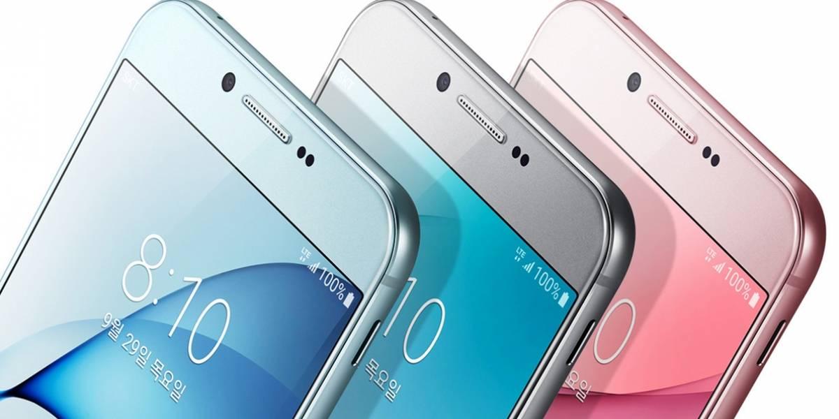 Se filtra el manual de usuario del Galaxy A8