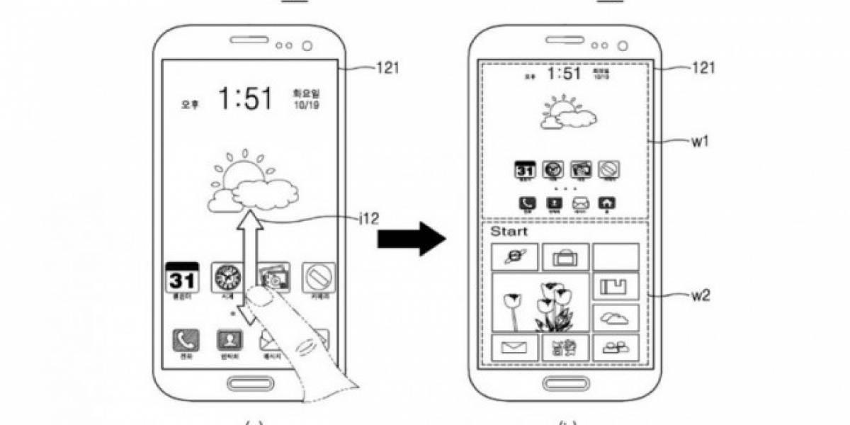 Samsung patenta smartphone que ejecuta Android y Windows al mismo tiempo