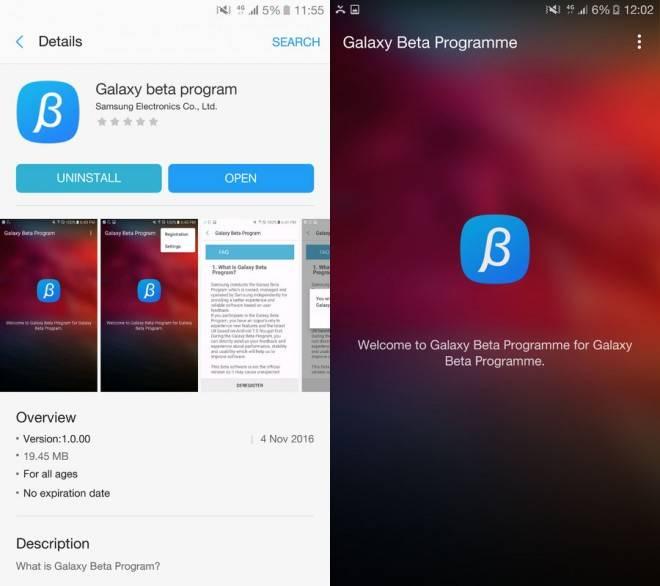 Beta de Android Nougat llega a los Samsung Galaxy S7