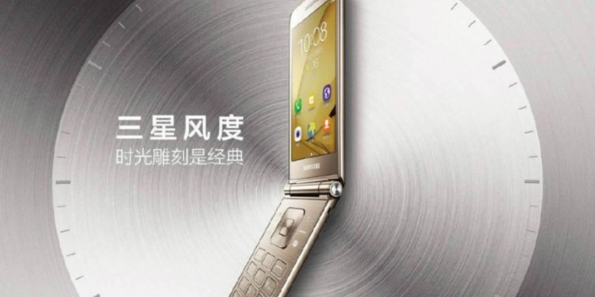 Se filtran imágenes promocionales del Samsung Galaxy Folder 2