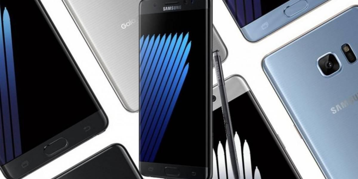 Samsung reanudará las ventas del Galaxy Note 7 en octubre y noviembre