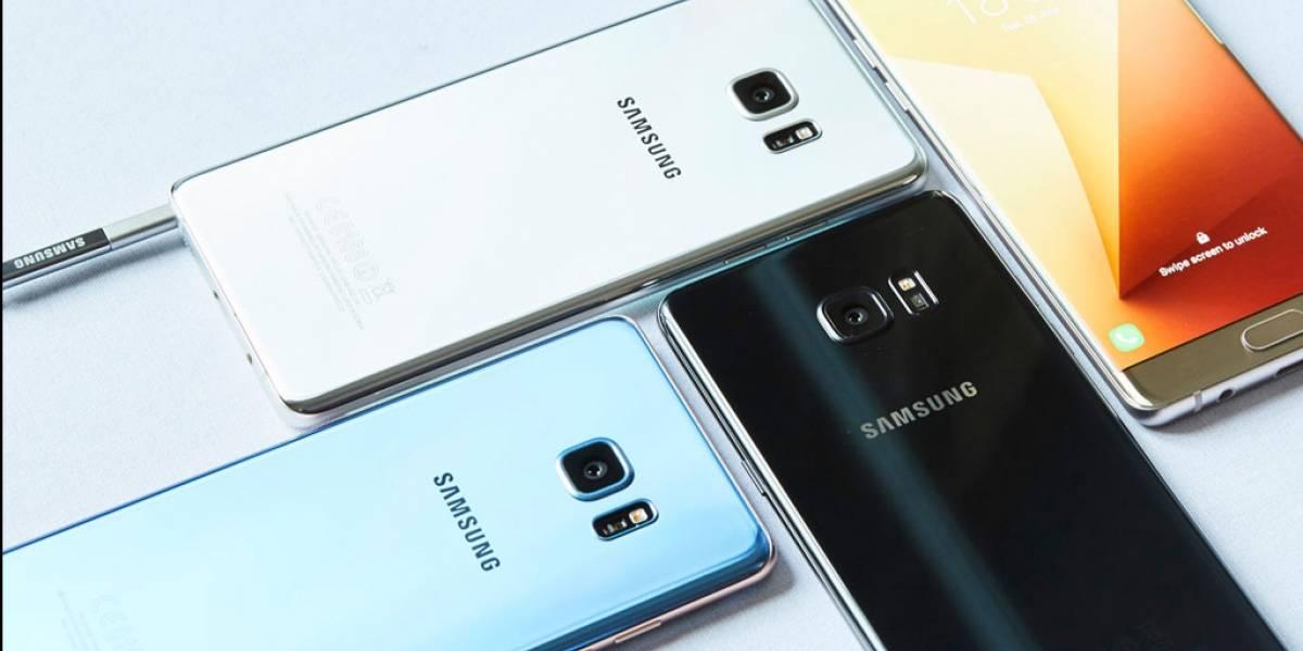 Samsung limita la batería del Galaxy Note 7 al 15% en Corea del Sur
