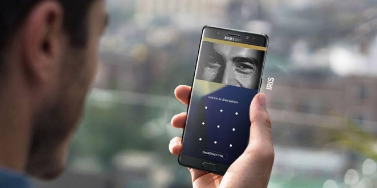 Samsung detalla cómo funciona el escáner de iris en el Galaxy Note 7
