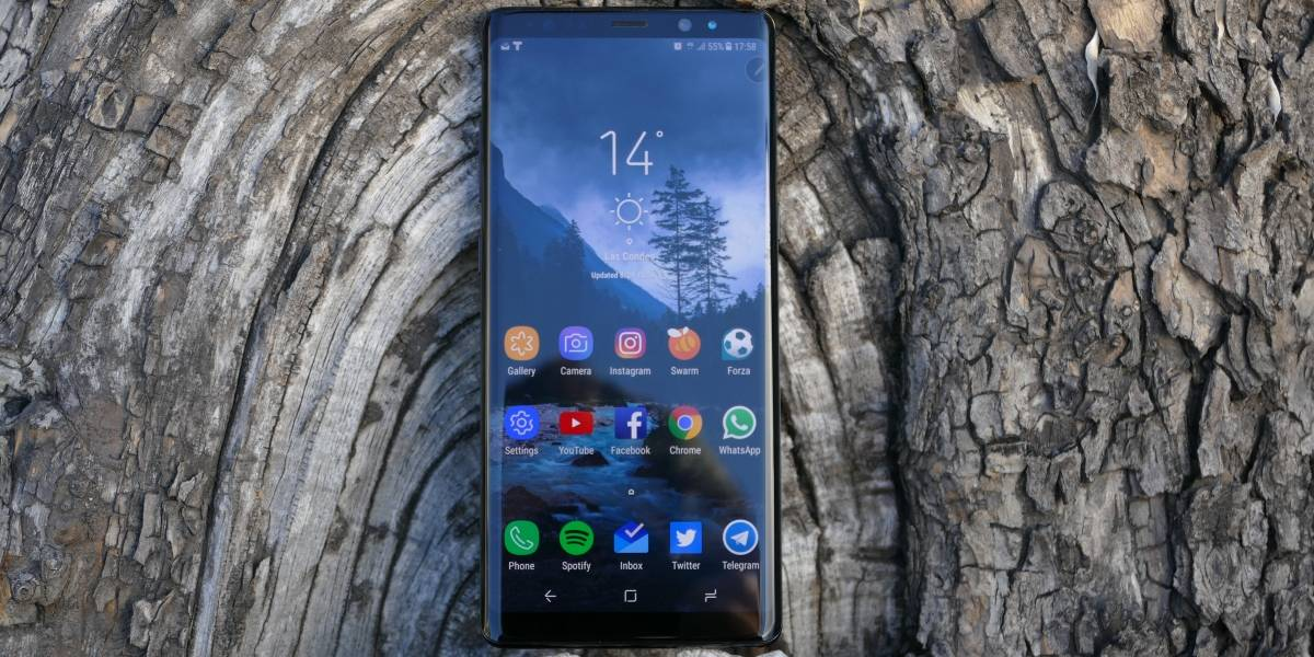 El Samsung Galaxy Note 8 rompe récords en su tierra natal