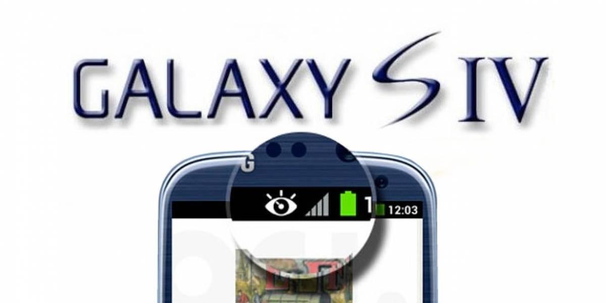 Samsung Galaxy S4 podría seguir tus ojos para interactuar con la pantalla