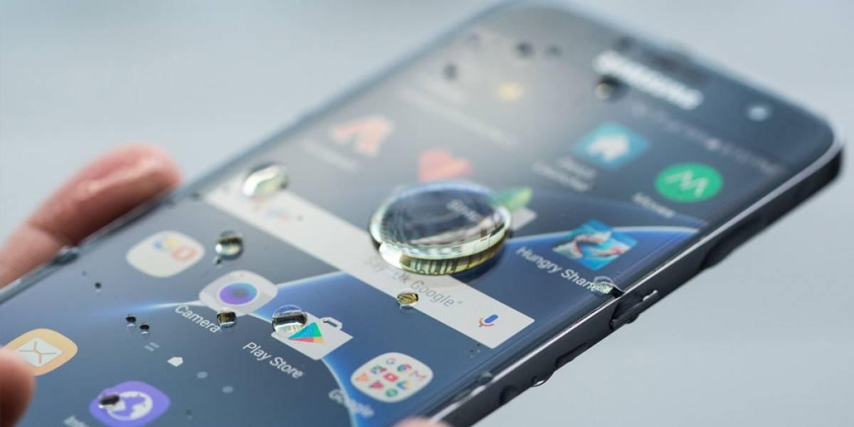 Samsung anticipa que los Galaxy A serán resistentes al agua
