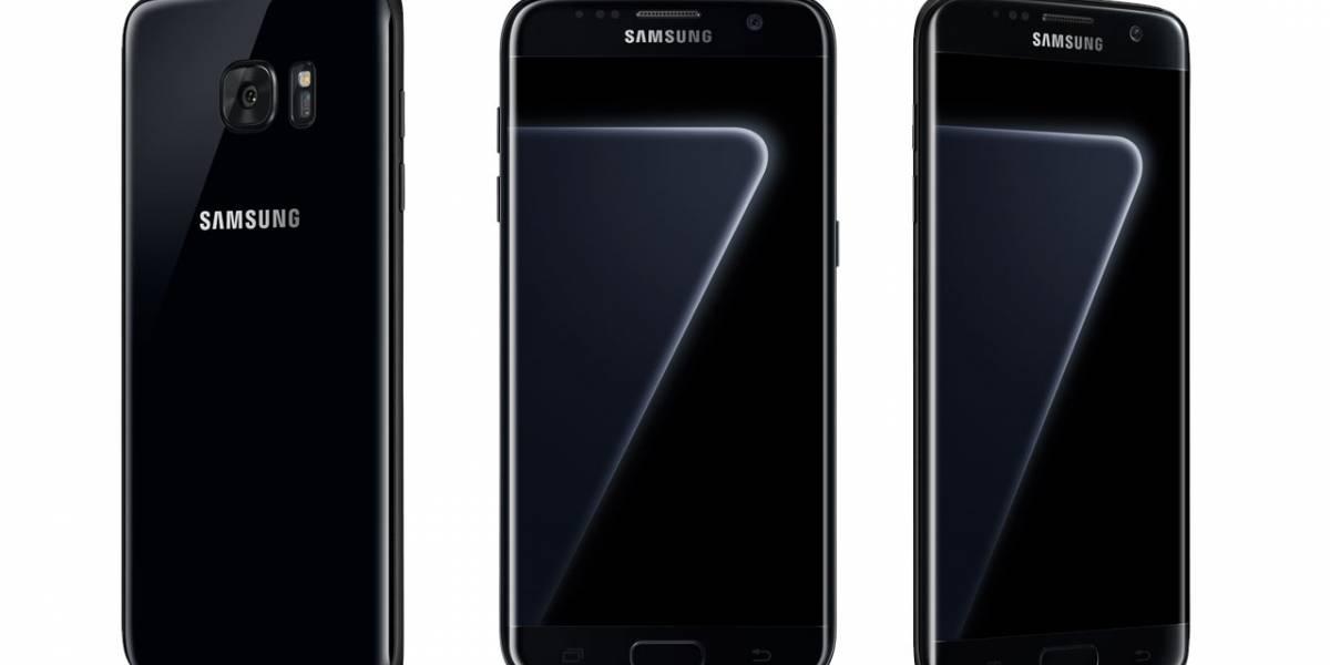 """Samsung presenta su Galaxy S7 edge """"Black Pearl"""" en México"""