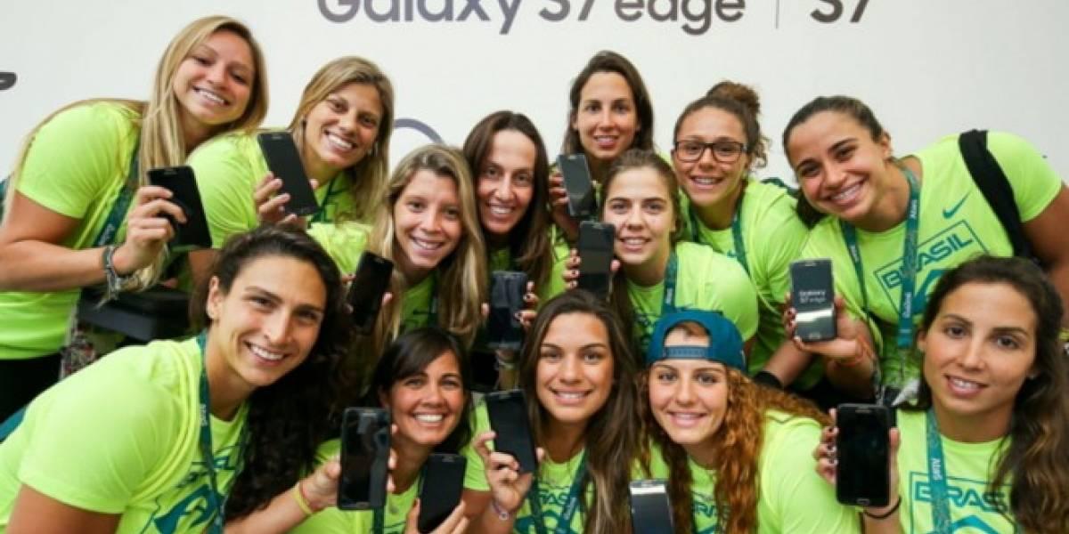 Samsung regala un Galaxy S7 Edge a los 12.500 atletas de Río 2016