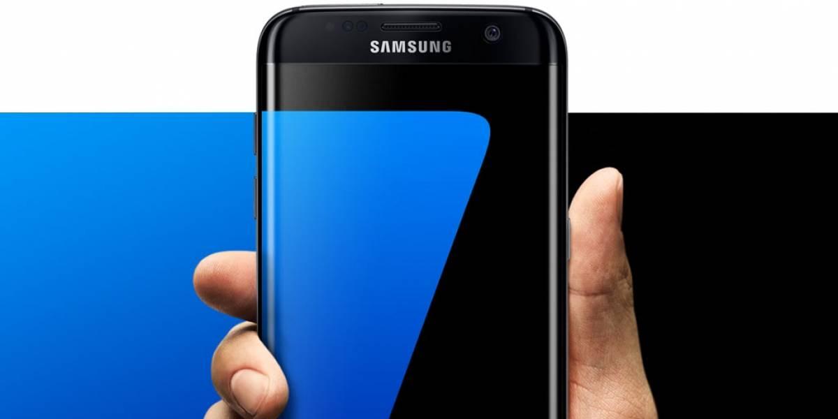 """El Galaxy S7 en """"Jet Black"""" se deja ver en público"""