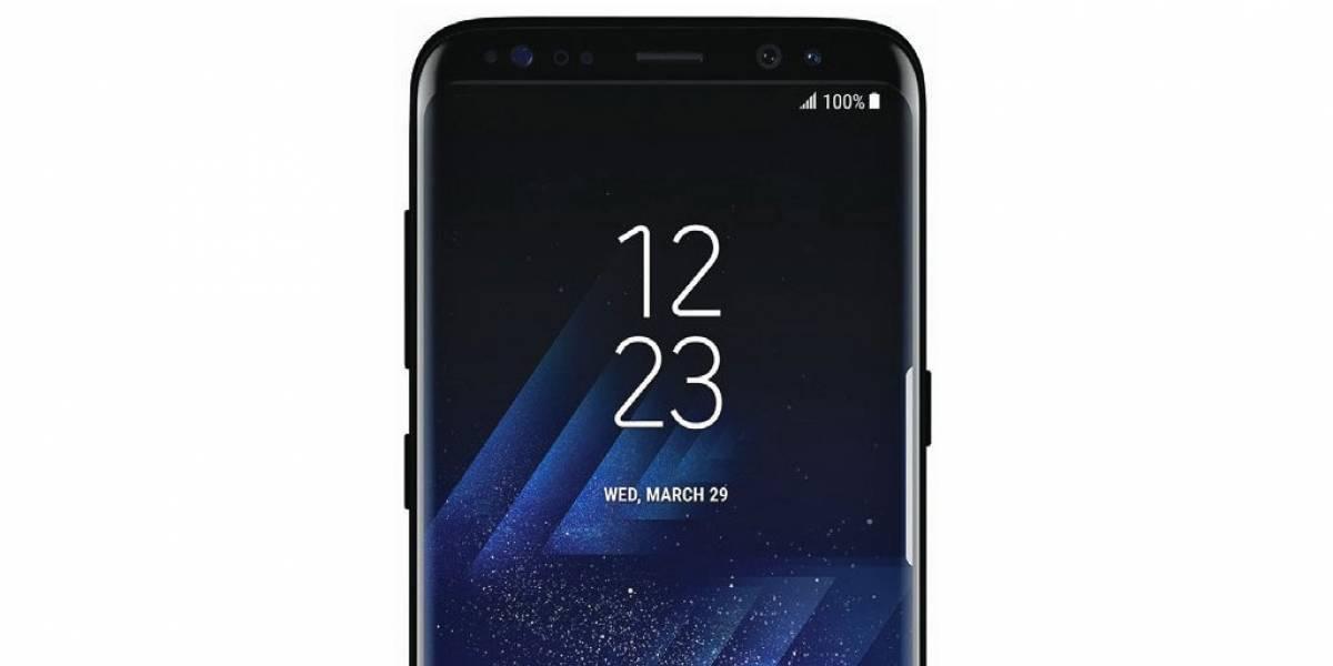 Se filtró la caja del Galaxy S8
