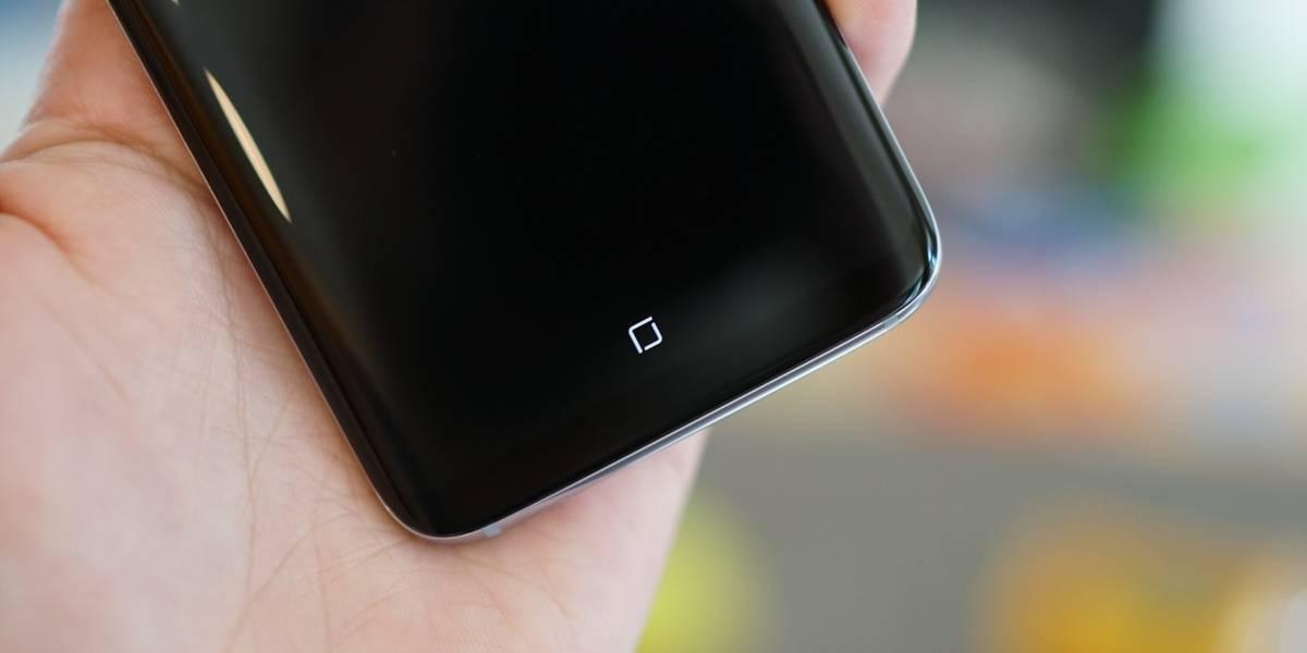 El botón home del Galaxy S8 no quemará la pantalla
