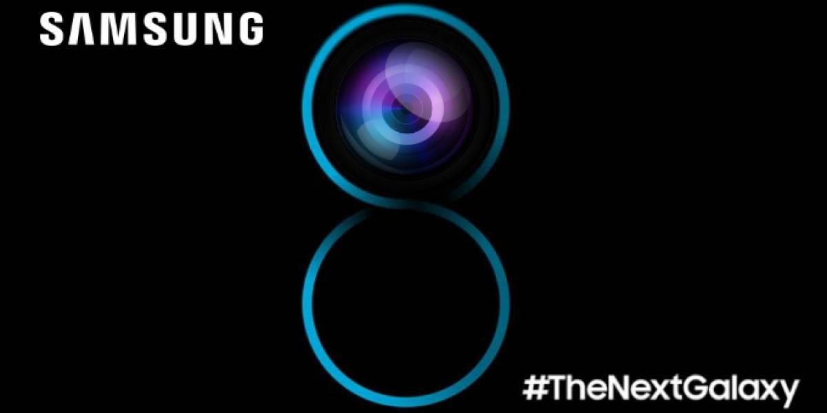 Samsung evidencia el enfoque automático en la cámara delantera del S8