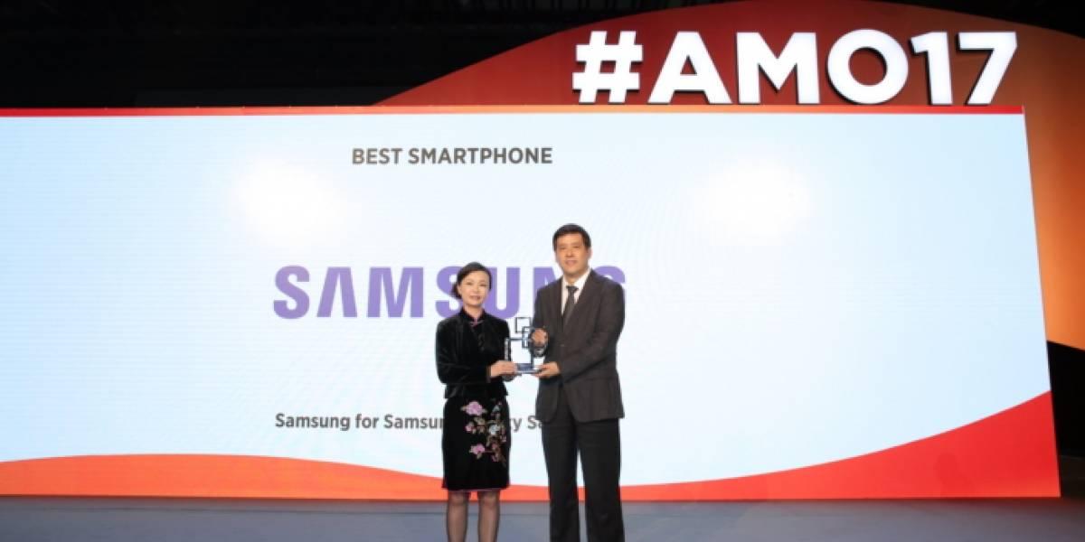 El Galaxy S8 es nombrado mejor smartphone en el Mobile World Congress Shanghai