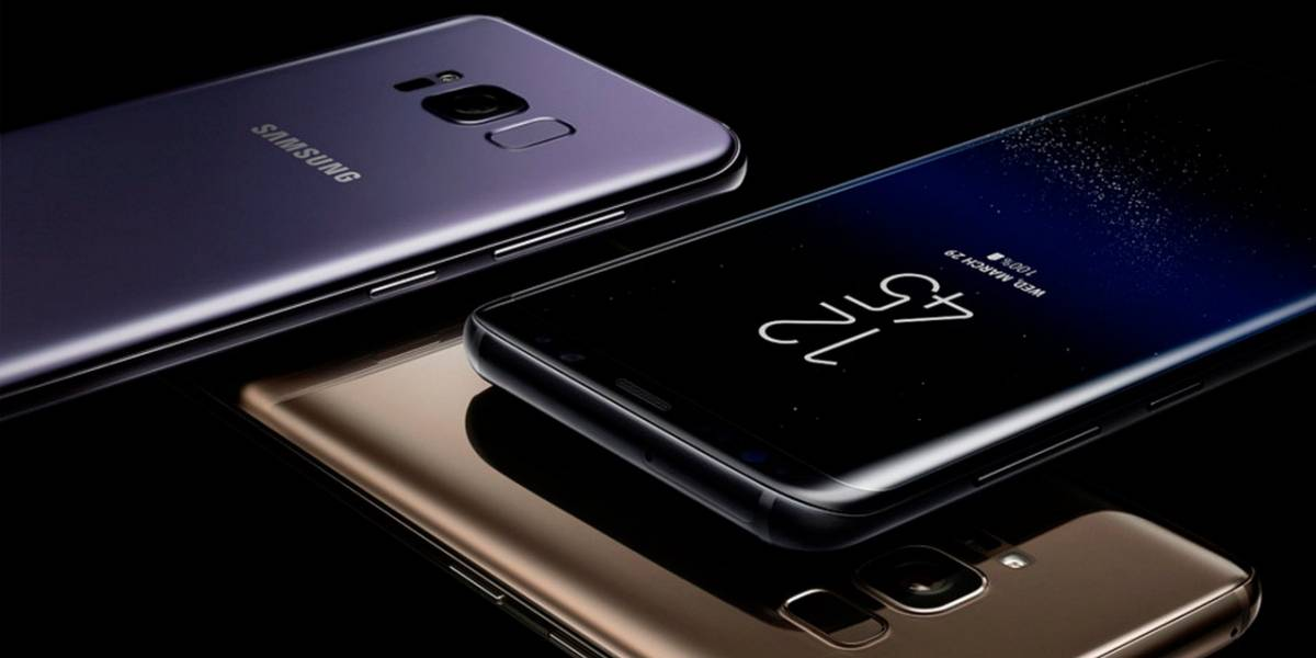 Galaxy S8 pasa las pruebas de doblado y calor casi intacto