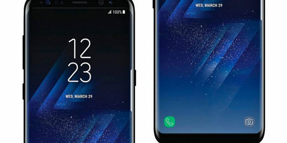 Conoce el Galaxy S8 en esplendoroso negro brillante