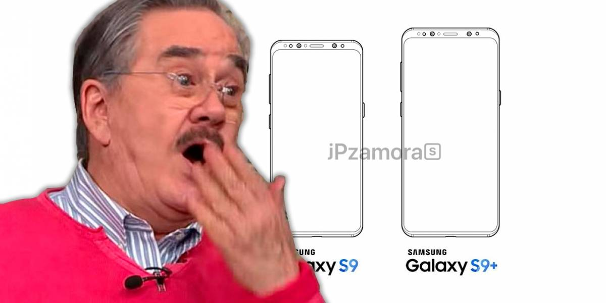 Se filtran los diagramas con el diseño del Galaxy S9 y el S9 Plus