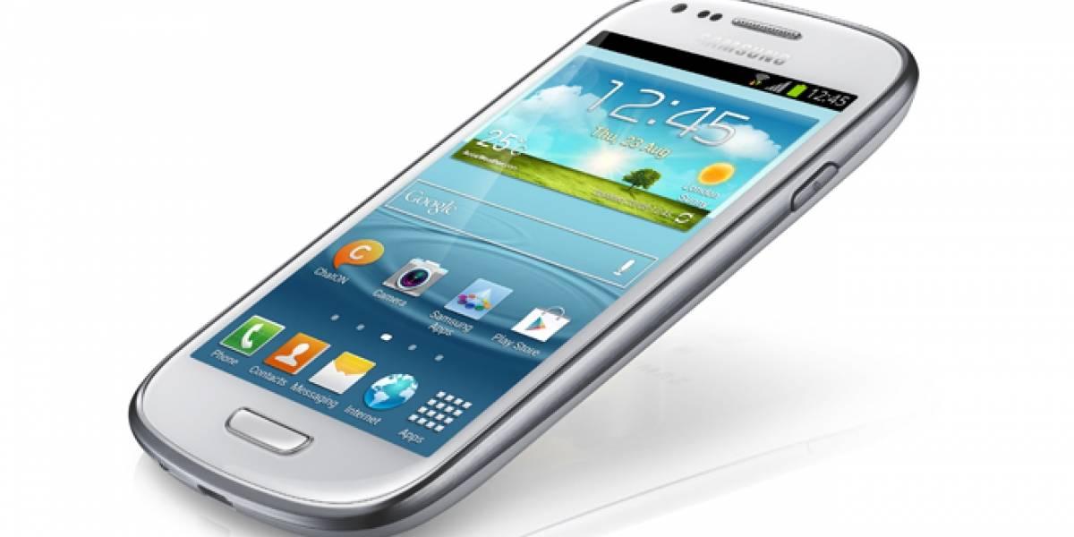 Ya está aquí el Samsung Galaxy S III mini con un procesador de 1GHz y pantalla de 4''