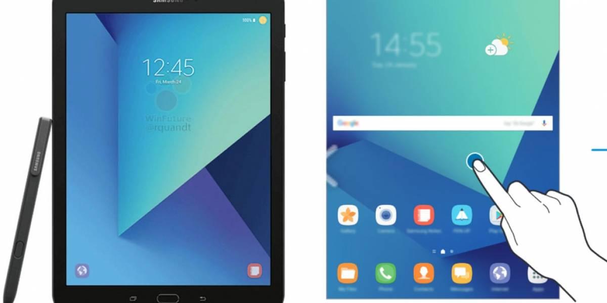 Se filtra manual de la Galaxy Tab S3, es como un Galaxy Note 7 grande