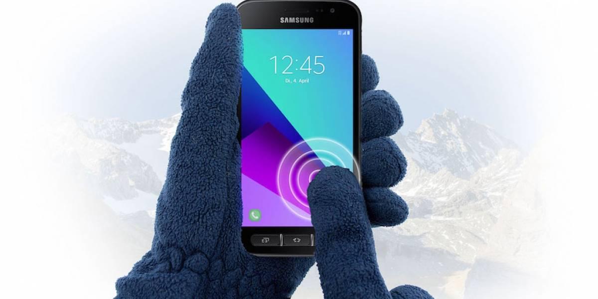 Samsung anuncia su nuevo smartphone resistente Galaxy Xcover 4