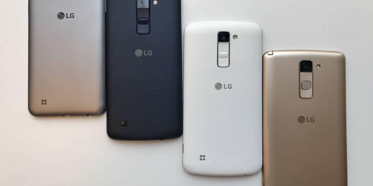 Diseño, cámara y funcionalidad encabezan la oferta de LG en la línea de los gama media