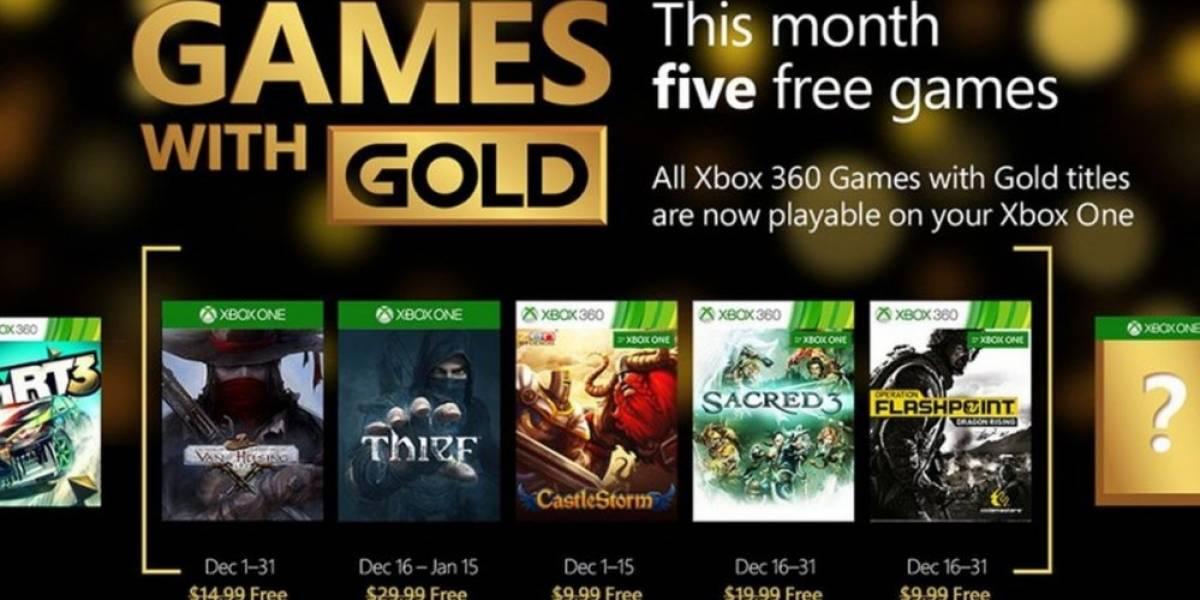 Games with Gold para diciembre: Thief, Van Helsing y más