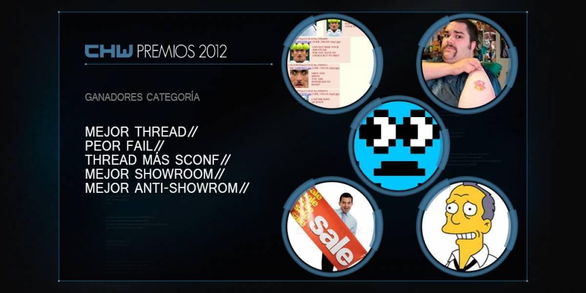 [CHW Awards 2012] Premios para la comunidad, parte 1