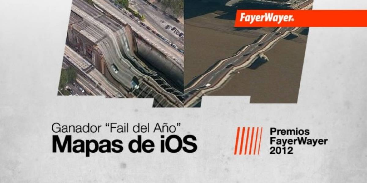 Los mapas de Apple para iOS 6: El Fail del Año 2012