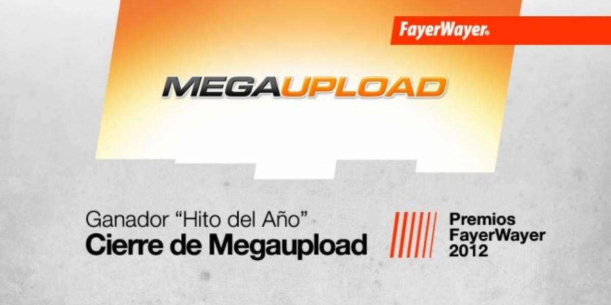 El cierre de MegaUpload, el Hito del Año 2012