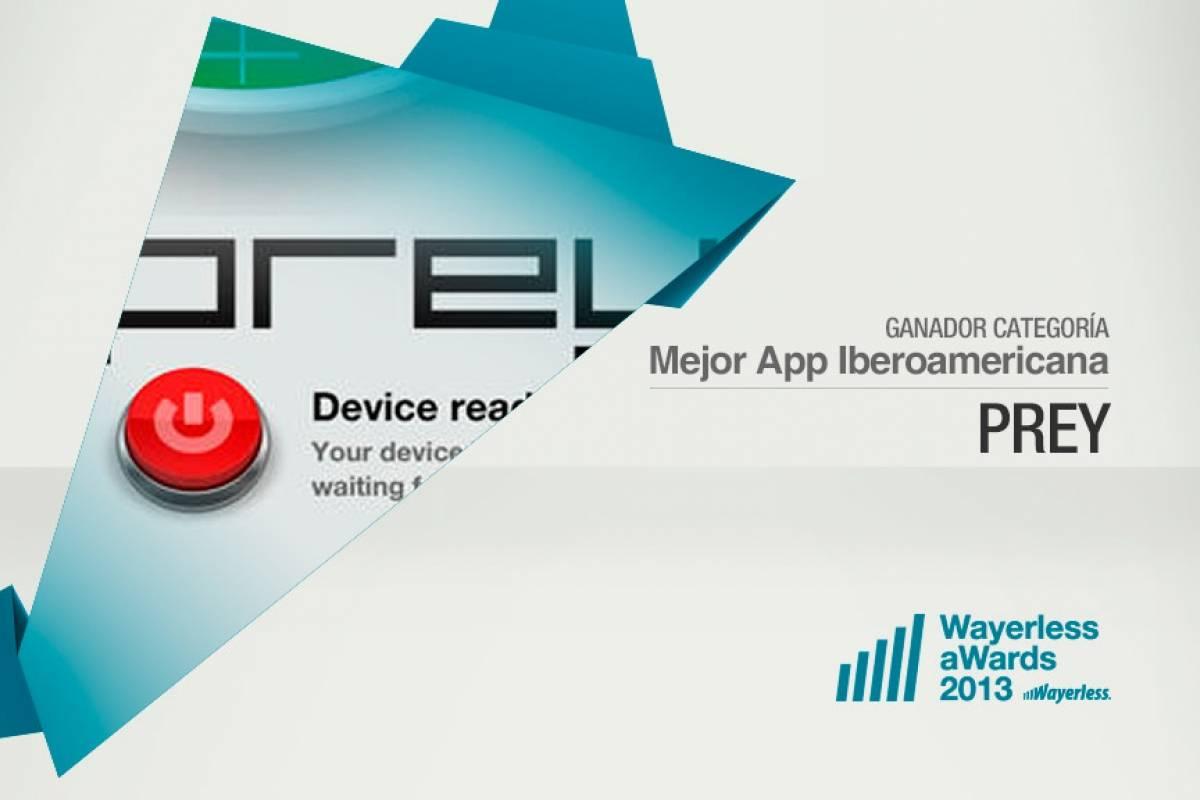Prey es la Mejor Aplicación Iberoamericana 2013 [W aWards]