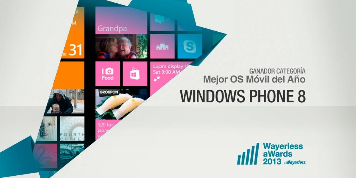 Windows Phone 8 es el OS Móvil del Año 2013 [W aWards]