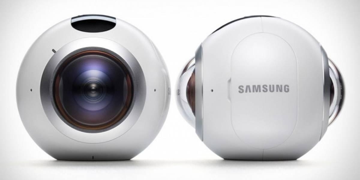 Samsung lanza su cámara Gear 360 en Chile