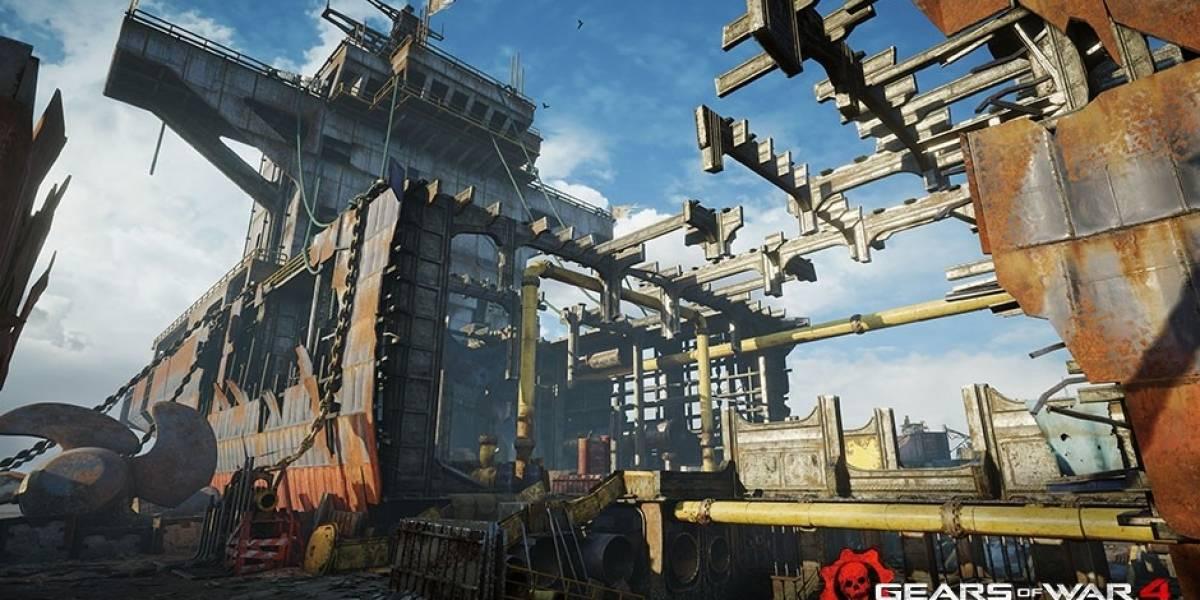 Gears of War 4 recibirá nuevos mapas la próxima semana