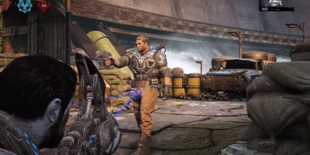 Los Cazadores de Mitos en Gears of War 4