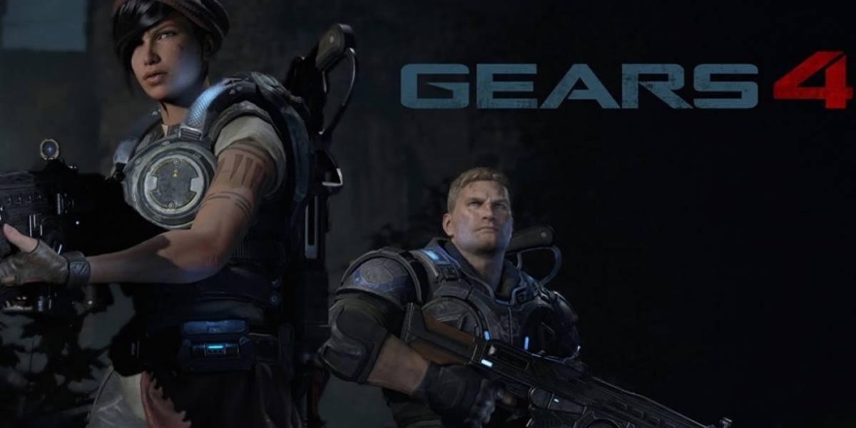 Gears of War 4 se verá a 1080p