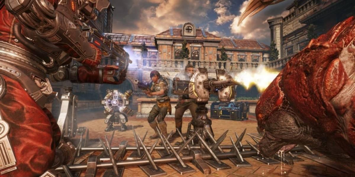 Vean 24 minutos del modo Horda de Gears of War 4