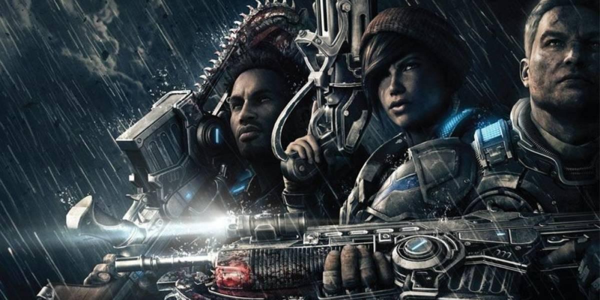 Revelada la fecha de lanzamiento y portada de Gears of War 4