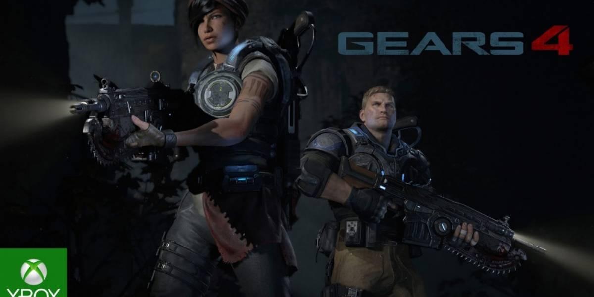 Gears of War 4 tendrá juego cruzado entre Xbox One y Windows 10 #E32016