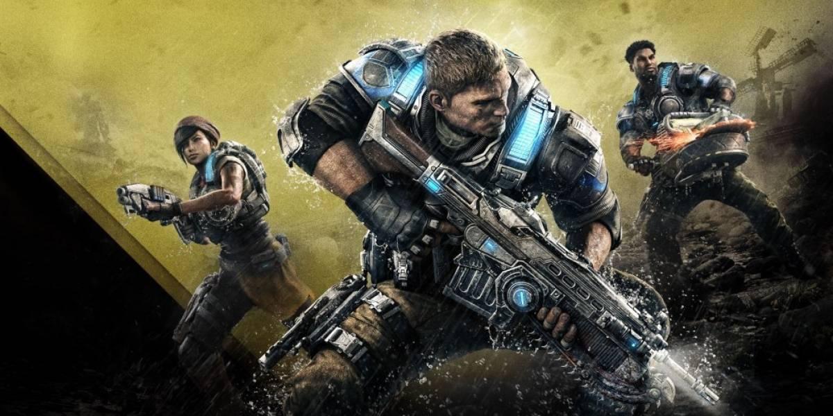 Un vistazo al mapa Impact de Gears of War 4