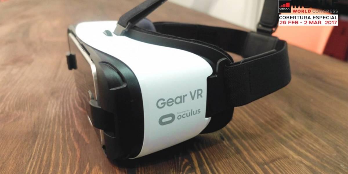 Samsung anuncia una nueva versión del Gear VR #MWC17