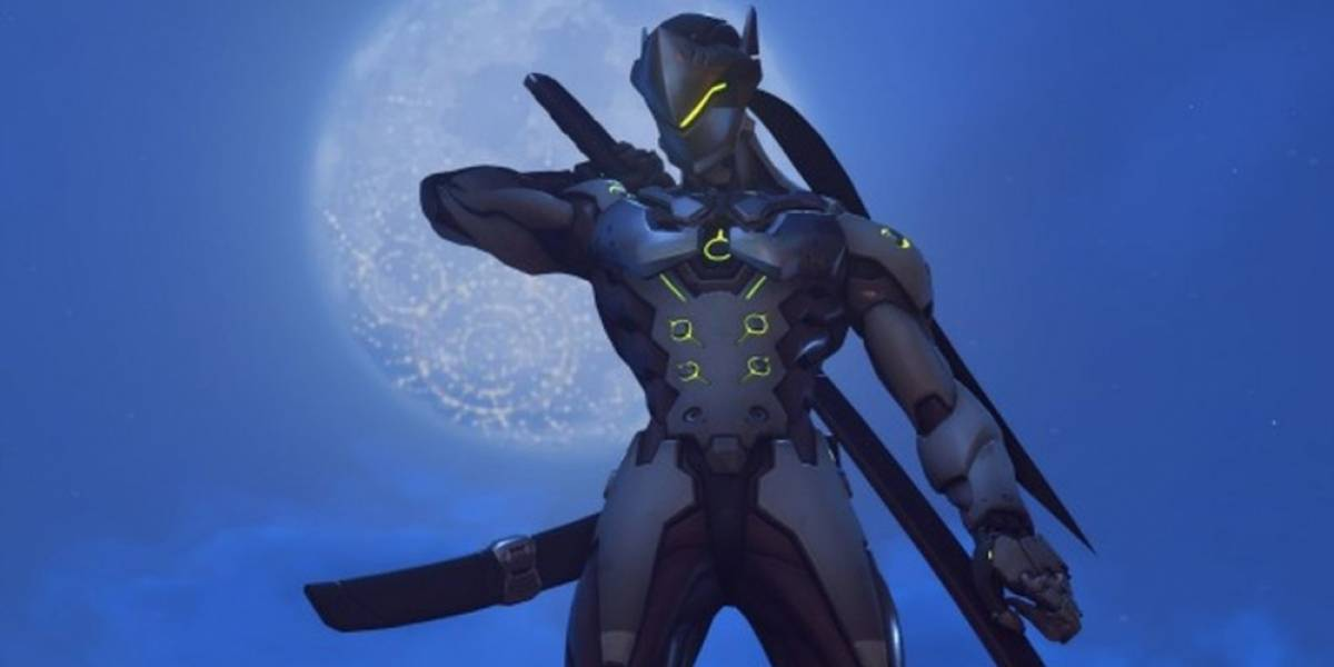 Genji de Overwatch se integra a Heroes of the Storm