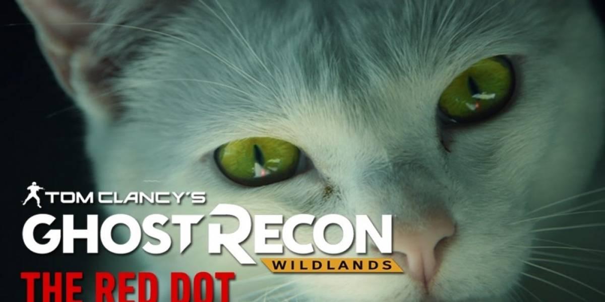 Ghost Recon: Wildlands estrena live-action tráiler protagonizado por un gato